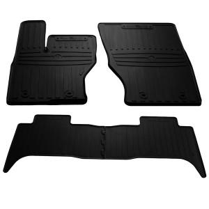 Комплект резиновых ковриков в салон автомобиля Land Rover Range Rover Sport II 2013-