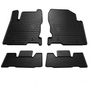 Комплект резиновых ковриков в салон автомобиля Lexus NX 2014-