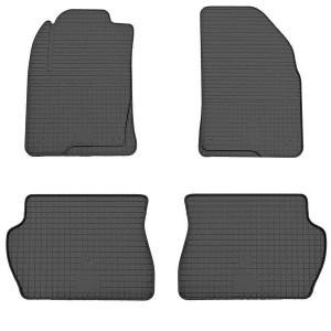 Комплект резиновых ковриков в салон автомобиля Mazda 2 2002-