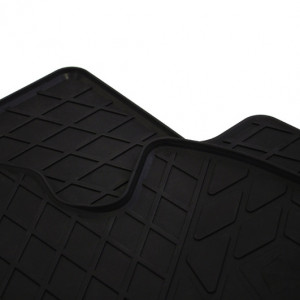 Передние автомобильные резиновые коврики Mazda 2 (DJ) 2014-