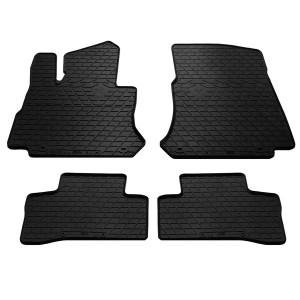 Комплект резиновых ковриков в салон автомобиля Mercedes Benz X253 GLC 2015-