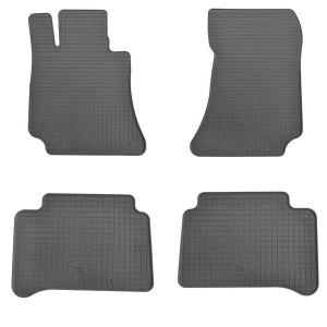 Комплект резиновых ковриков в салон автомобиля Mercedes C218