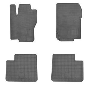 Комплект резиновых ковриков в салон автомобиля Mercedes GL-X166