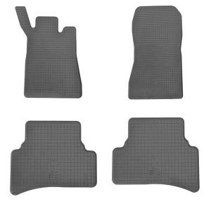 Комплект резиновых ковриков в салон автомобиля Mercedes Benz W 202