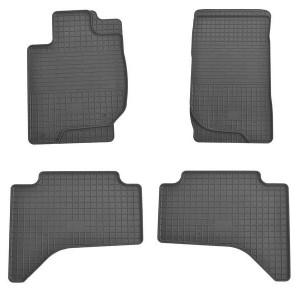 Комплект резиновых ковриков в салон автомобиля Mitsubishi L200