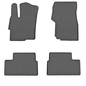 Комплект резиновых ковриков в салон автомобиля Mitsubishi Lancer X 2007-