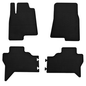 Комплект резиновых ковриков в салон автомобиля Mitsubishi Pajero Wagon 2007-