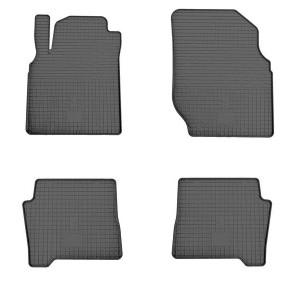 Комплект резиновых ковриков в салон автомобиля Nissan Almera Classic 2006-