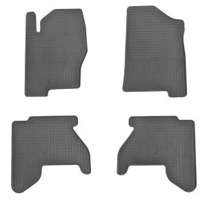 Комплект резиновых ковриков в салон автомобиля Nissan Navara D40