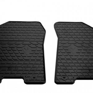 Передние автомобильные резиновые коврики Nissan Patrol (Y62) 2010-