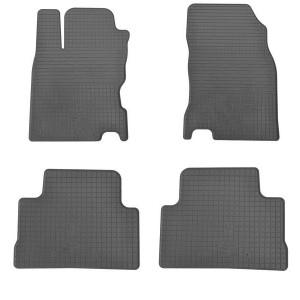 Комплект резиновых ковриков в салон автомобиля Nissan Qashqai +2 2007-