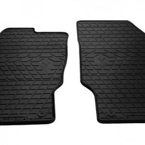 Передние автомобильные резиновые коврики Opel Corsa D 06- (design 2016)