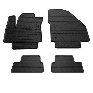 Комплект резиновых ковриков в салон автомобиля Opel Meriva B 2010-