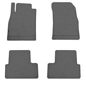 Комплект резиновых ковриков в салон автомобиля Opel Zafira 2011-