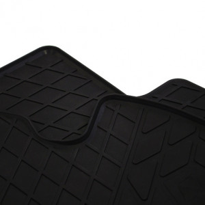 Передние автомобильные резиновые коврики Peugeot 107 2005-