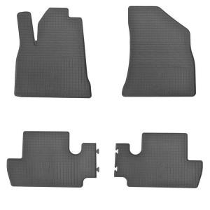 Комплект резиновых ковриков в салон автомобиля Peugeot 3008 2009-