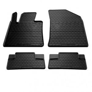 Комплект резиновых ковриков в салон автомобиля Peugeot 508 2010-