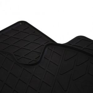 Передние автомобильные резиновые коврики Peugeot Bipper 2008- (design 2016)