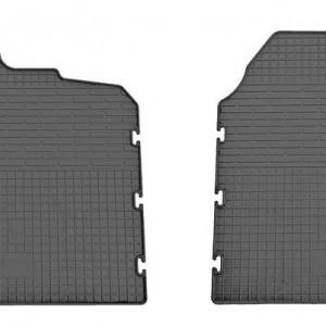 Комплект резиновых ковриков в салон автомобиля Peugeot Boxer 2006- (design 2016)