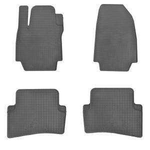 Комплект резиновых ковриков в салон автомобиля Renault Clio III