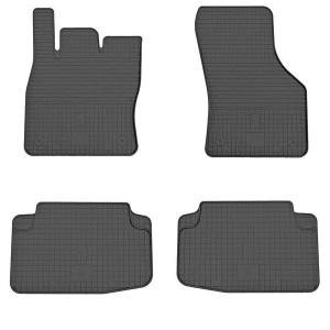 Комплект резиновых ковриков в салон автомобиля Seat Leon 2012-