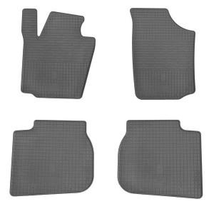 Комплект резиновых ковриков в салон автомобиля Skoda Rapid 2013-