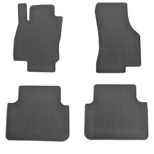 Комплект резиновых ковриков в салон автомобиля Skoda Superb III 2015