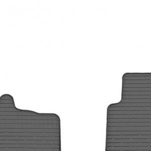 Комплект резиновых ковриков в салон автомобиля Smart 1998-2014