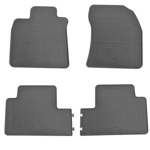 Комплект резиновых ковриков в салон автомобиля Toyota Avensis 2009-