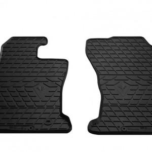 Передние автомобильные резиновые коврики Toyota Hilux VIII 2015-