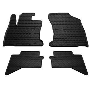 Комплект резиновых ковриков в салон автомобиля Toyota Hilux VIII 2015-