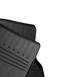Передние автомобильные резиновые коврики Toyota Sequoia II 2008- (special design 2017)