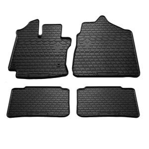 Комплект резиновых ковриков в салон автомобиля Toyota Yaris 2013-