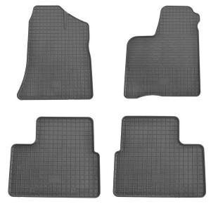 Комплект резиновых ковриков в салон автомобиля Lada Priora 2000-
