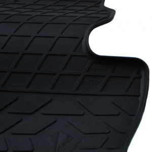 Водительский резиновый коврик Volkswagen Amarok 2009-