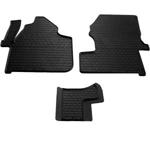 Водительский резиновый коврик Volkswagen Crafter (1+1) 2006-