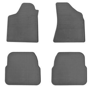 Комплект резиновых ковриков в салон автомобиля Volkswagen Passat B3 1988-