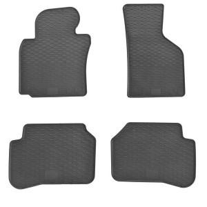 Комплект резиновых ковриков в салон автомобиля Volkswagen Passat B6 2005-