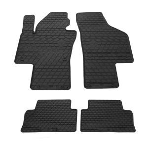 Комплект резиновых ковриков в салон автомобиля Volkswagen Sharan 2010-
