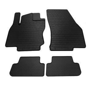 Комплект резиновых ковриков в салон автомобиля VW Tiguan 16-