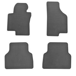 Комплект резиновых ковриков в салон автомобиля Volkswagen Tiguan I 2007-
