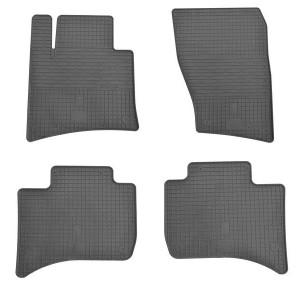 Комплект резиновых ковриков в салон автомобиля Volkswagen Touareg 2010-