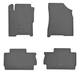 Комплект резиновых ковриков в салон автомобиля ZAZ Forza 2011-