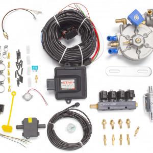 Мини-комплект ГБО 4 поколения STAG 200 GoFast (редуктор Torelli Taurus, форсунки Torelli, фильтр, температурный датчик Torelli)