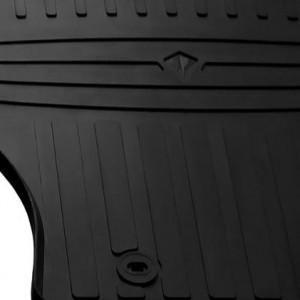 Водительский резиновый коврик Chevrolet Silverado 2013-2019 (1002164 ПЛ)