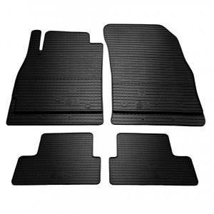 Комплект резиновых ковриков в салон автомобиля Chevrolet Cruze 2016- (1002024)