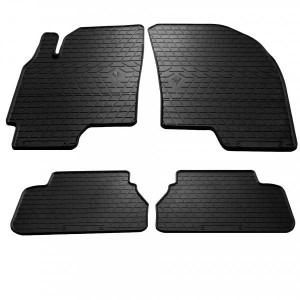 Комплект резиновых ковриков в салон автомобиля Chevrolet Epica 2006-2012 (1002034)