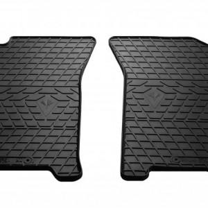 Передние автомобильные резиновые коврики ZAZ Vida 2012- (1002052)