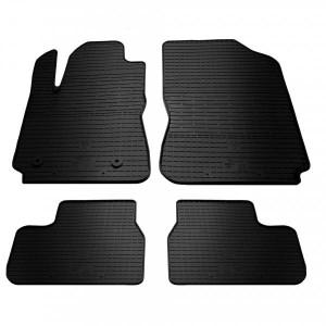 Комплект резиновых ковриков в салон автомобиля Citroen C4 Cactus 2014-2017 (1003014)