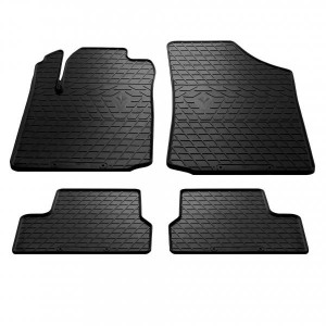 Комплект резиновых ковриков в салон автомобиля Citroen C3 2002-2009 (1003024)